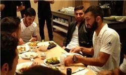 حضور جهانبخش در اردوی تیم ملی امید + عکس