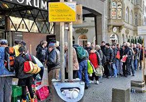 شمار قابل توجه کارگران فقیر در کشورهای اروپایی