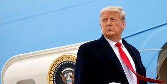 ترامپ کاخ سفید را ترک کرد+ عکس