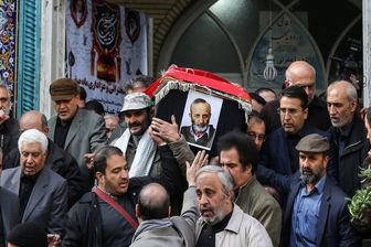 پیکر مرحوم «حسن شایانفر» تشییع شد