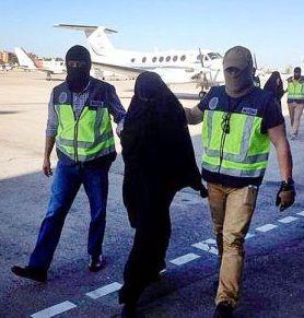 دستگیری 2 زن اسپانیایی به اتهام همکاری با داعش