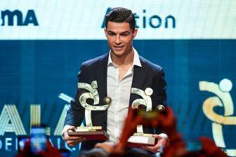 رونالدو بهترین بازیکن کالچو
