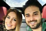 بابک جهانبخش و همسرش+عکس