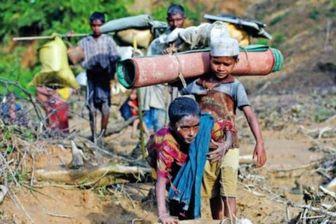 عدم آمادگی میانمار برای بازگشت آوارگان روهینجایی
