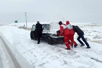 بارش ۷۰ سانتی متری برف در کوهرنگ