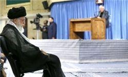 مراسم سوگواری مولای متقیان امام علی(ع) در حضور رهبر معظم انقلاب
