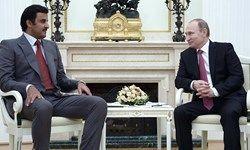 در دیدار امیر قطر و پوتین چه گذشت؟