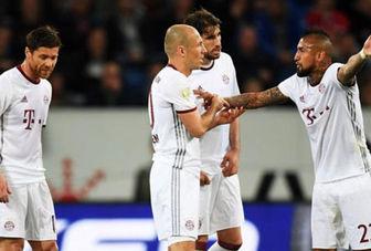 نتایج شب گذشته فوتبال اروپا/ شکست بایرمونیخ