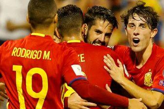 بررسی ترکیب تیم ملی اسپانیا مقابل ایران