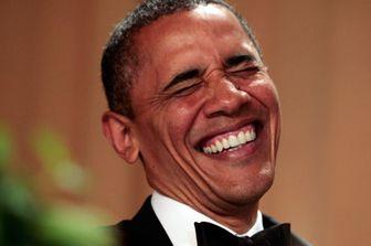 اوباما در برنامهای تلویزیونی ترامپ را به سخره گرفت
