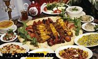 نمایشگاه غذای سالم در روستای پالنگان کامیاران برگزار شد