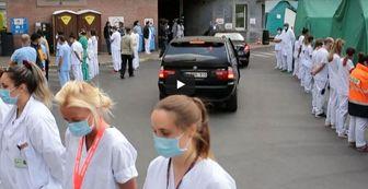 پشت کردن کادر درمان کرونا به نخست وزیر بلژیک