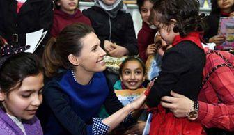 واکنش مخالفان اسد به عکسهای همسرش+تصاویر