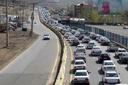 ادامه ترافیک در محورهای ورودی شمال
