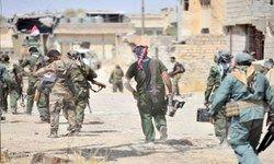 استقرار نیروهای حشد الشعبی در مرزهای عراق