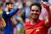 ابراز علاقه ستاره بارسا به اسطوره تنیس جهان
