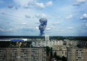 تخلیه روستایی در نزدیکی محل انفجار روسیه
