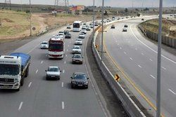 ترافیک سنگین جاده هراز در روز پایانی تعطیلات