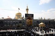 عزاداری عاشورای حسینی در حرم مطهر رضوی/گزارش تصویری