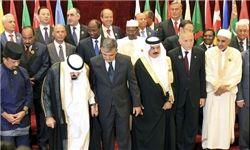 دیده بوسی احمدینژاد و مرسی + تصاویر اجلاس