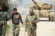 مهمات تروریستها در ریف دمشق کشف و ضبط شد
