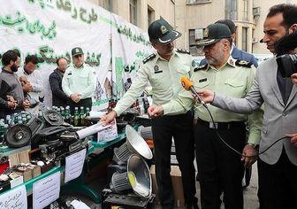 عملیات رعد پلیس پایتخت/ عکس