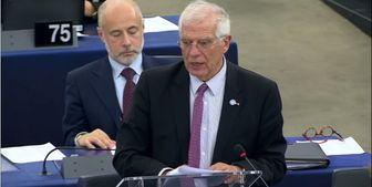 بورل: هدف آغاز مکانیسم حل اختلاف، اعمال تحریمها نیست
