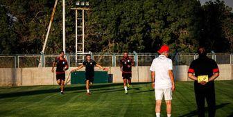 درخشش حاج صفی در تمرین تراکتور