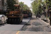 مرمت بیش از 41 هزار نقطه خرابی در سطح معابر شهر تهران