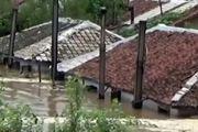 تخلیه منازل و نابودی هکتارها زمین در سیل ویرانگر کره شمالی