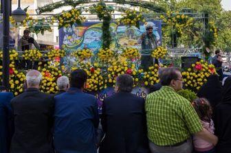 تهران گلباران میشود