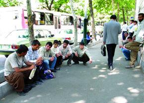 ترافیک آمارهای بیکاری در دولت