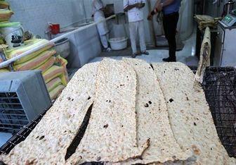 فروش اجباری نان دو رو کنجد گرانفروشی است